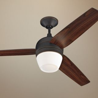 "52"" Monte Carlo Merlot Roman Ceiling Fan with Light Kit   #U5967"