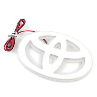 USD $ 16.86   Red Light LED Car Badge Light Stiker Car Decoration for