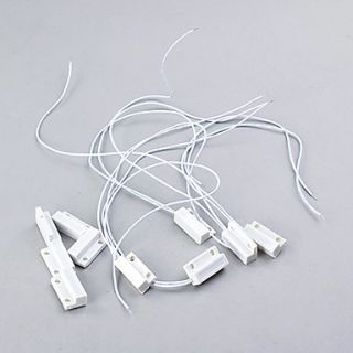 USD $ 9.59   5 Pieces Door Window Contact Magnetic Reed Switch Alarms