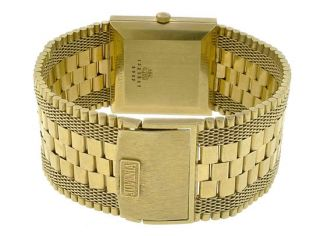 Juvenia Automatic 18K Solid Yellow Gold Diamond Men's Watch Retail $