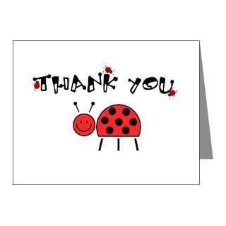 Gifts  Baby Note Cards  Ladybug Thank You/Note Cards (Pk of 20