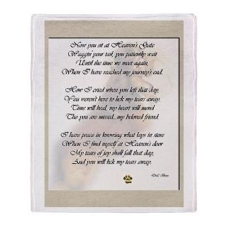 rainbow bridge poem stadium blanket $ 63 49
