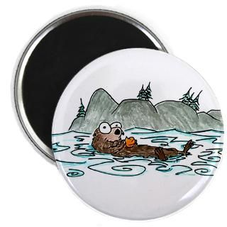 Cartoon Otter Magnet  Buy Cartoon Otter Fridge Magnets Online
