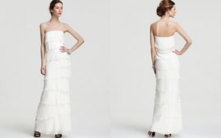Nicole Miller Strapless Gown   Tiered_2