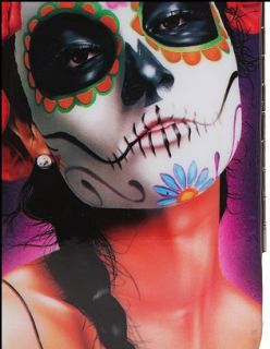Dia de Los Muertos Wallet Horror Bettie Page Day of The Dead Punk