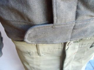 1942 44 WWII U s Army Field Jacket 38R Kersey Field Trousers 36