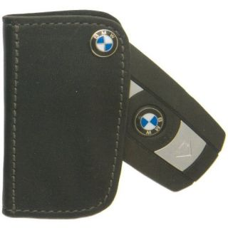 BMW Genuine Black Leather Key Case 9361