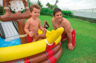Pirate Adventure SHIP Play Center Kids Inflatable Pool 57133EP