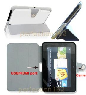 Smart Slim Stand Leather Skin Case for Kindle Fire HD 7 7 inch Tablet