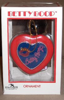 Kurt Adler Betty Boop Ornament in Box