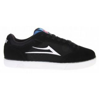 Lakai Mike MO Skate Shoes Black Suede Girl L E
