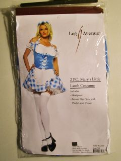 Leg Avenue Marys Little Lamb Costume XS Halloween