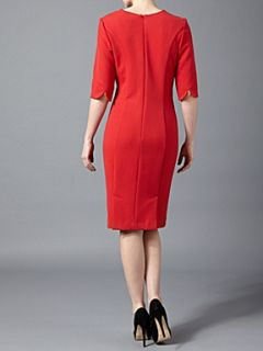 Kenneth Cole Tux collar dress Coral