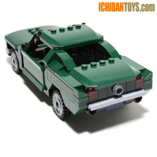 New Lego Custom 1968 Ford Mustang GT 390 Fastback from Bullitt