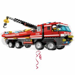 32 Lego City Toys Birthday Party Fire Engine Truck Foil Supershape