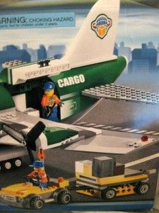 Lego 100 Comp 7734 Special Ed City Transportation Cargo Plane Sold Out