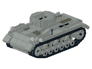 LEGO Custom SHERMAN TANK WW2 INSTRUCTIONS ONLY ( WWII World War US