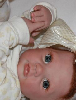 Baby Doll Girl Newborn Dumplin RuBert Babymine Nursery Letha