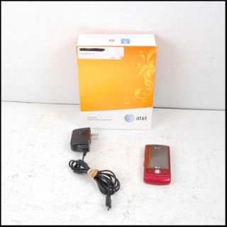 LG Shine CU720 Red at T Cellular Cell Phone Needs Sim Card