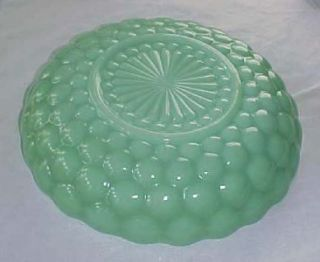 THIS AUCTION IS FOR AN ANCHOR HOCKING FIRE KING JADEITE JADITE BUBBLE