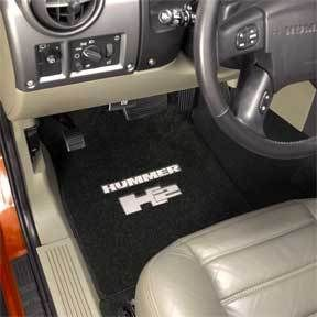 Lloyd Custom Made Front Floor Mats 2003 2007 Hummer H2