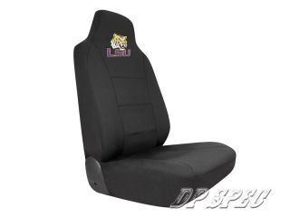 LSU Louisiana State Fighting Tigers NCAA Neoprene Seat Cover Ford Car