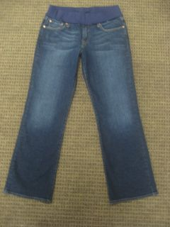 Lucky Brand Maternity Jeans Stretch Flare OL Brigade Jeans Size 14 32