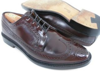 Shell Cordovan Allen Edmonds MacNeil Burgundy Wingtip Dress Shoes 10 E