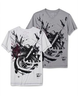 Marc Ecko Cut & Sew T Shirt, Moto Photo Graphic T Shirt