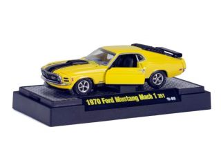 M2 Machines Detroit Muscle 1970 Ford Mustang Mach 1 R15