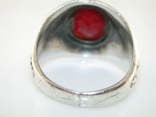 WWII United States Marine Corps ESPO Sterling Silver Ring