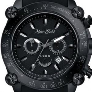 Marc Ecko DT 1 Black Chronograph Mens Watch E20048G2