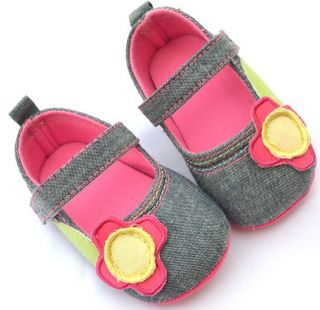 Mary Jane Infant Toddler Baby Girl Shoes Size 1
