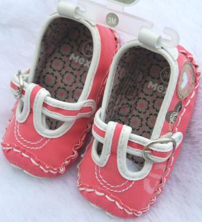 Mary Jane Toddler Baby Girl Shoes Size 1 2 3