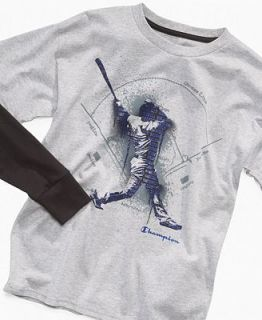 Champion Kids Shirt, Boys Baseball Slider T Shirt