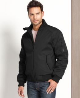 Calvin Klein Jacket, Soft Shell Bomber Jacket   Mens Coats & Jackets