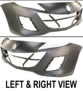 BCW850031JBB Front New Bumper Cover Primered Sedan Mazda 3 2010 Auto