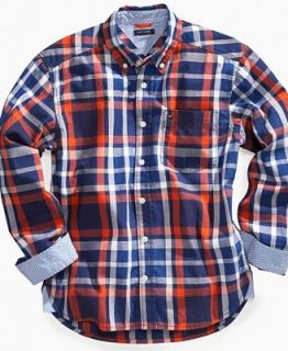 Tommy Hilfiger Kids Shirt, Boys Ratner Plaid