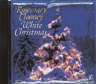 Rosemary Clooney Signed White Christmas Holiday CD