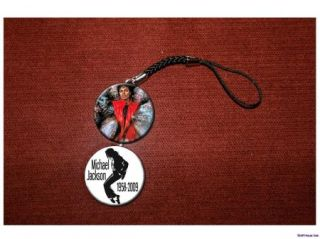 Michael Jackson Thriller Cell Hanging Charm