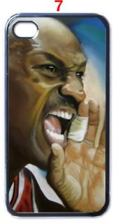 Michael Jordan Chicago Bulls NBA iPhone 4 4S Case Casing