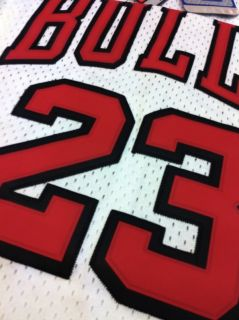 Michael Jordan Chicago Bulls 23 Swingman White Home Jersey