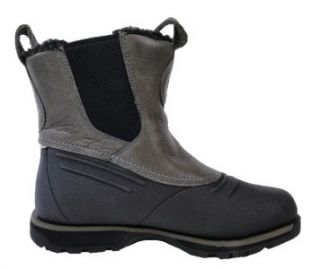 Rockport Mens K60052 Lux Lodge Pull on Boots Granite Black Assorted