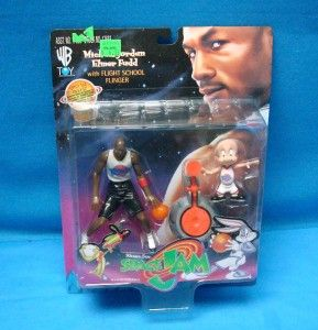 Lot of 5 Space Jam Warner Bros Michael Jordan Action Figures 1996 NIP