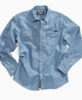 Lucky Brand Kids Shirt, Boys Nijo Plaid Shirt   Kids Boys 8 20