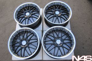 20 Infiniti G35 Sedan XIX Lago Black Wheels Rims