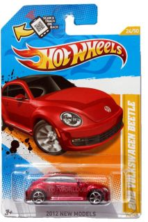 2012 Hot Wheels New Models 24 2012 Volkswagen Beetle