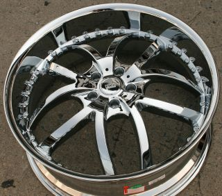 22 Chrome Rims Wheels Cadillac cts STS DTS GM 22 x 8 5 5H 35