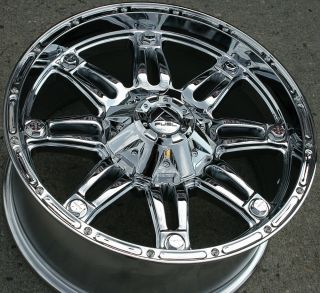 F503 20 Chrome Rims Wheels Tahoe Silverado 2WD 20 x 9 0 5H 20