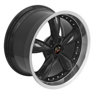 18 9 10 Black Bullitt Wheels Rims Fit Mustang® 94 04